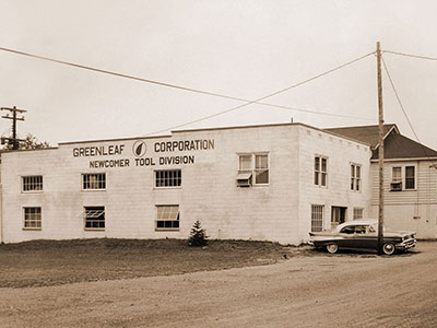 Greenleaf Corporation Building from the 1950s